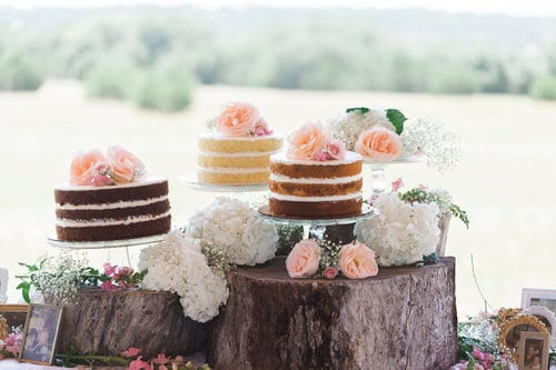 Wedding cakes are making a comeback in a big way