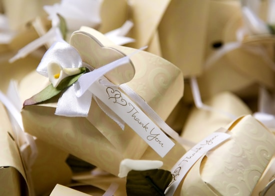 Five wedding favours your guests will love