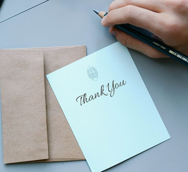Five reasons why thank you cards are still important