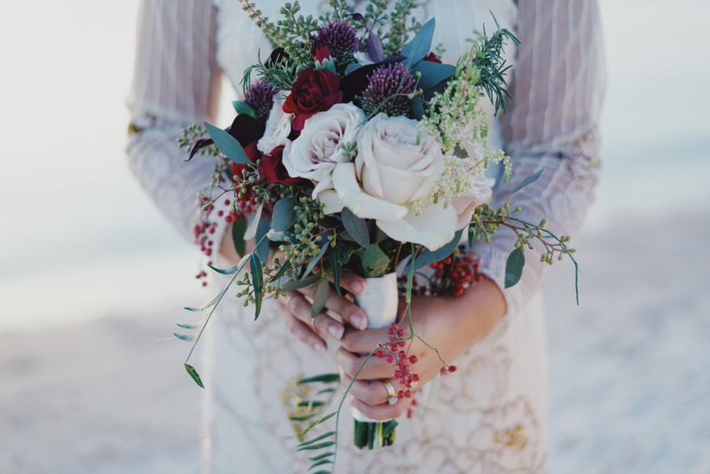 Five stylish ideas for unique bridal bouquets