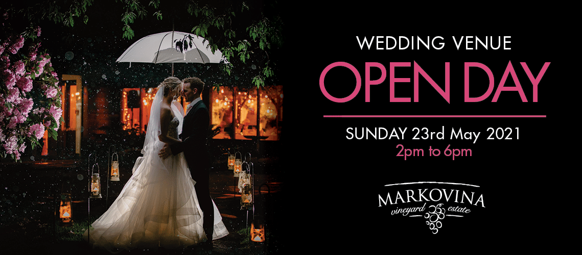 Join us for our wedding venue Open Day on Sunday 23 May 2021